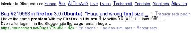 Firefox: problemas con las fuentes en ubuntu - Imagen 1