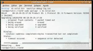 Actualizar el firmware del nslu