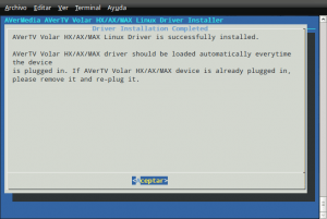 AVerMedia Volar HX: drivers para ubuntu 9.04 (parte I) 8