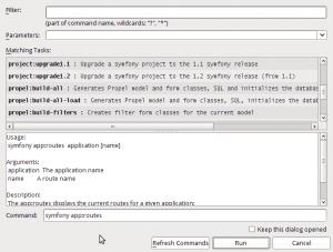 Probando Netbeans con soporte para Symfony - Imagen 4