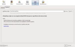 Probando Netbeans con soporte para Symfony - Imagen 3