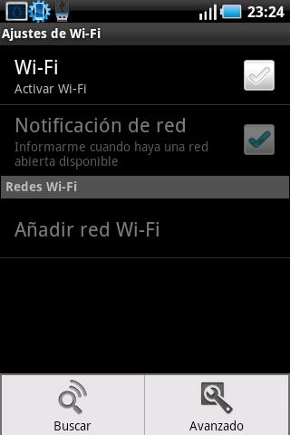 Ajustes wifi