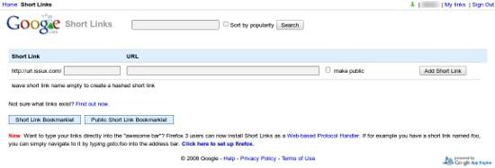 Acortador de urls en nuestro dominio con Google Apps 6