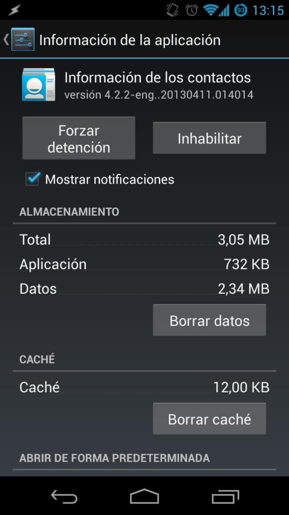 Corregir android.acore.process