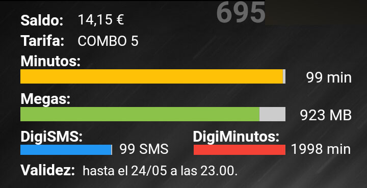 Widget Digimobil